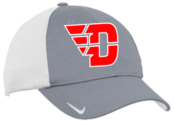 Nike Gray Colorblock Fitted Hat  1f03061f48c